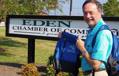 Picture of Pete at Eden Chamber of Commerce
