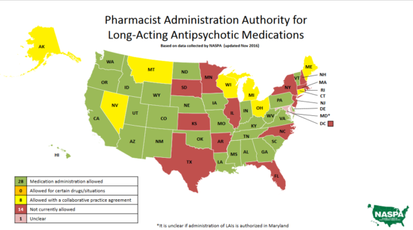 Does your pharmacy offer antipsychotic injections?