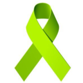 Wearing lime green ribbons has become a symbol of support for mental health awareness.